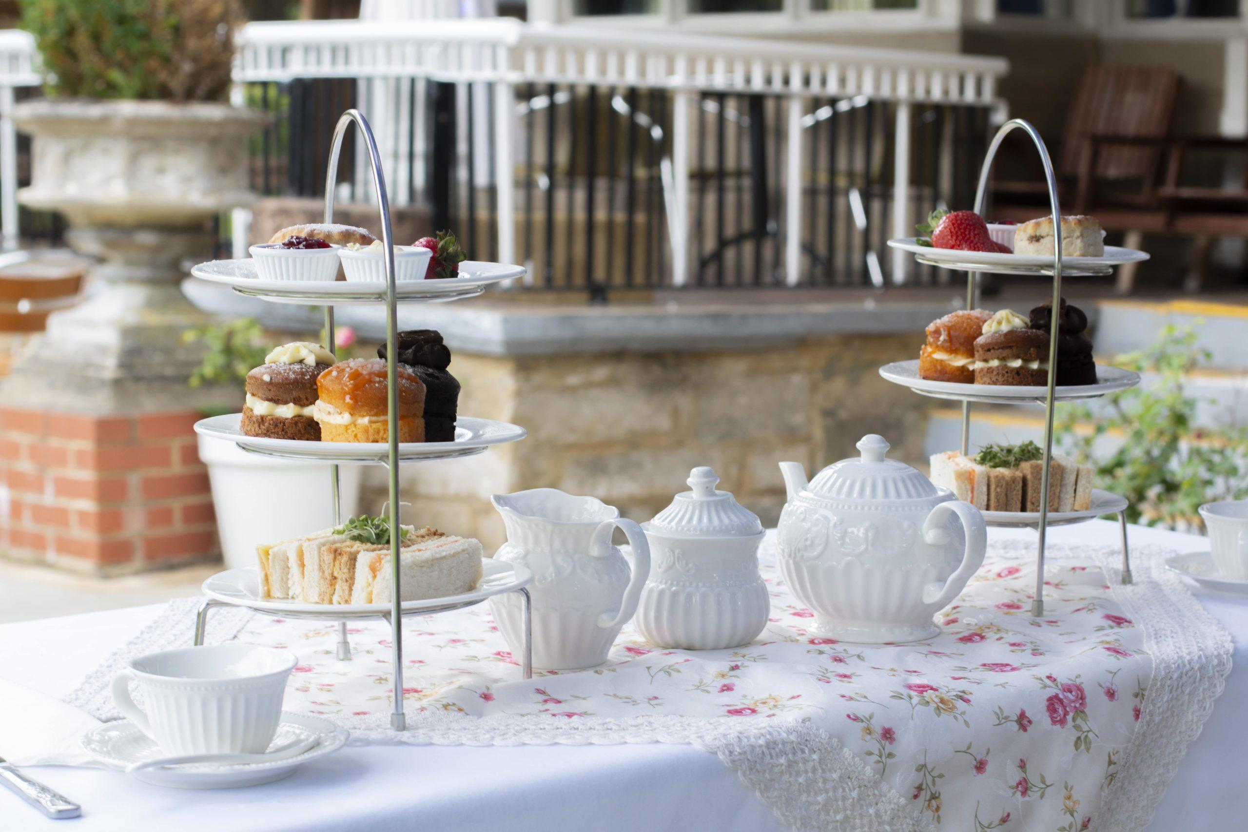 Westone Manor Hotel Afternoon Tea